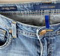 Vigoss Blue Distressed The New York Style Faded Low-rise Stretchy Denim Boot Cut Jeans Size 30 (6, M) Vigoss Blue Distressed The New York Style Faded Low-rise Stretchy Denim Boot Cut Jeans Size 30 (6, M) Image 5