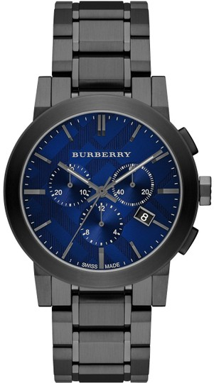 Preload https://img-static.tradesy.com/item/24042976/burberry-gray-ion-blue-men-s-swiss-chronograph-ion-plated-watch-0-1-540-540.jpg
