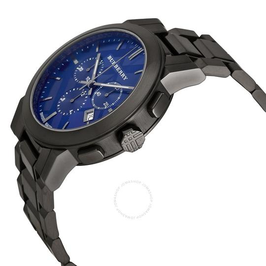 Burberry Men's Swiss Chronograph Ion-plated Watch Image 1