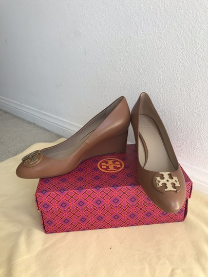 Tory Burch Brown Wedges Image 1