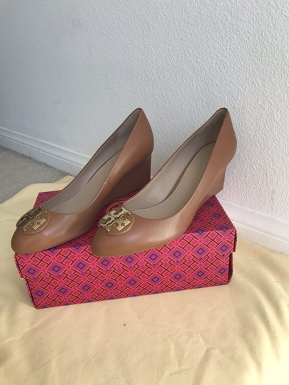 Tory Burch Brown Wedges Image 3