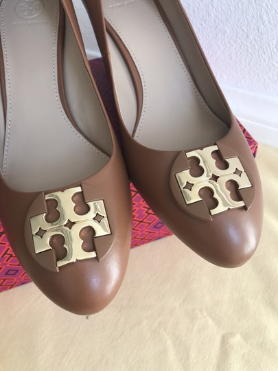 Tory Burch Brown Wedges Image 5