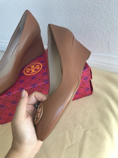Tory Burch Brown Wedges Image 9