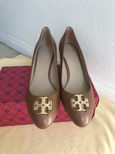 Tory Burch Brown Wedges Image 2