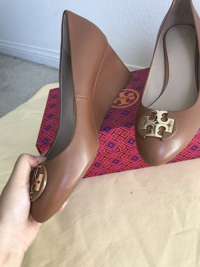 Tory Burch Brown Wedges Image 6
