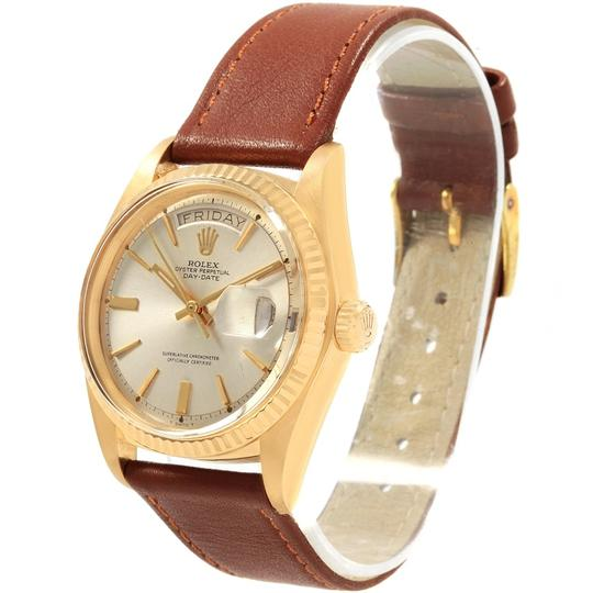 Rolex Rolex President Day-Date 18K Yellow Gold Vintage Mens Watch 1803 Image 3