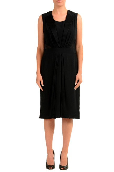 Preload https://img-static.tradesy.com/item/24043166/viktor-and-rolf-black-v-11926-mid-length-short-casual-dress-size-16-xl-plus-0x-0-0-650-650.jpg