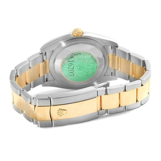 Rolex Rolex Datejust 36 Steel Yellow Gold White Dial Mens Watch 116203 Image 5