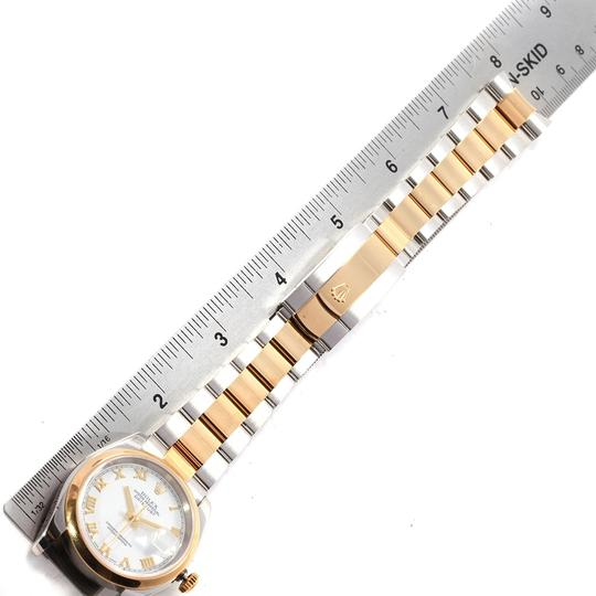 Rolex Rolex Datejust 36 Steel Yellow Gold White Dial Mens Watch 116203 Image 9