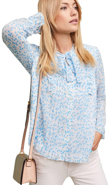 Preload https://img-static.tradesy.com/item/24043187/anthropologie-eden-tie-sleeve-floral-ranna-gill-blouse-size-4-s-0-1-650-650.jpg