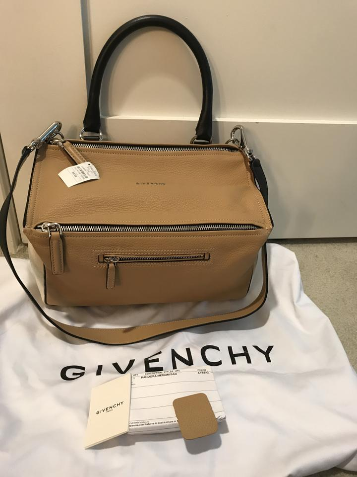 418b01b678e Givenchy Pandora Medium Bicolor Sugar Light Beige/White/Black ...