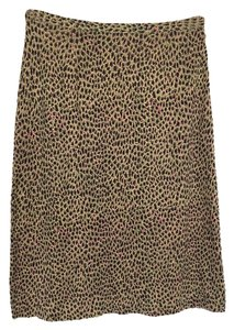 Diane von Furstenberg Pencil Dvf Skirt Animal Print