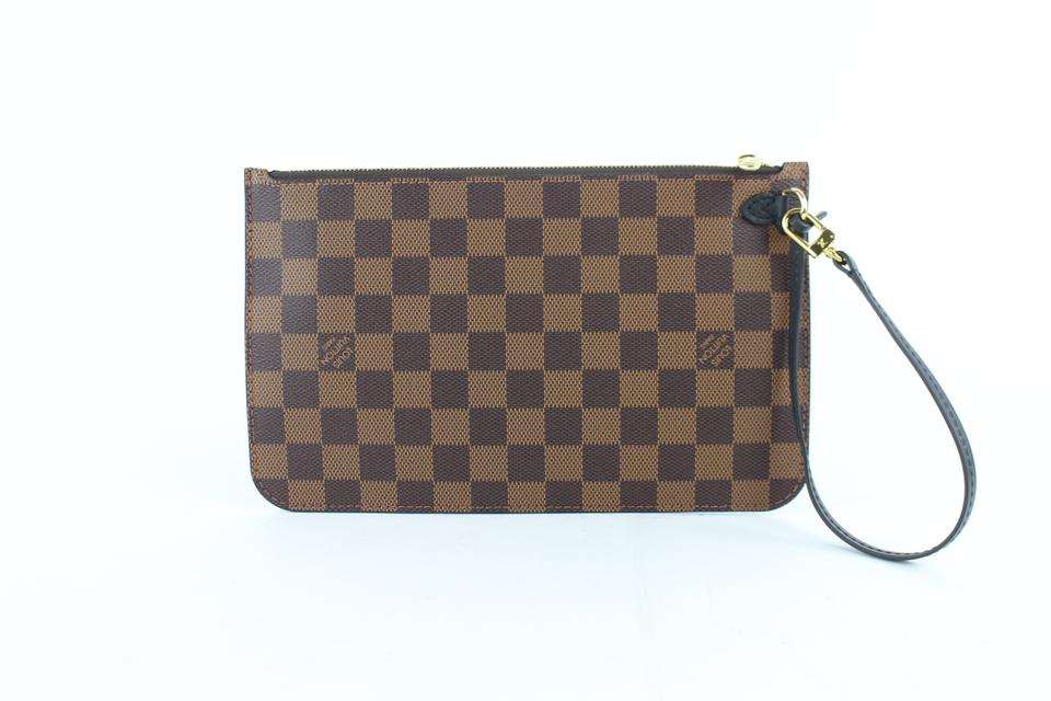 Louis Vuitton Poche Pouch City Pouch Pochette Homme Wristlet in Brown ... 442b56fb32c