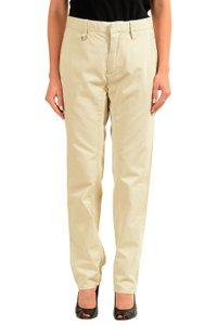 Dsquared2 Straight Pants Beige