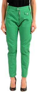Dsquared2 Straight Pants Green