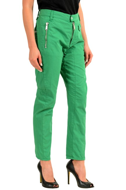 Dsquared2 Straight Pants Green Image 1