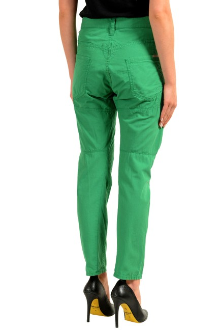 Dsquared2 Straight Pants Green Image 2
