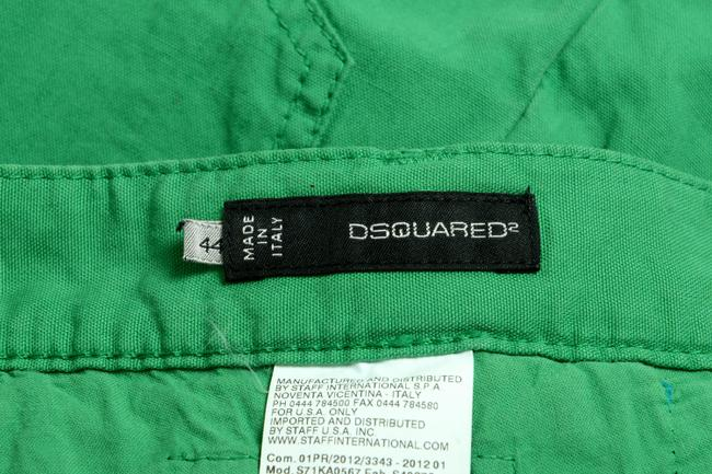 Dsquared2 Straight Pants Green Image 3