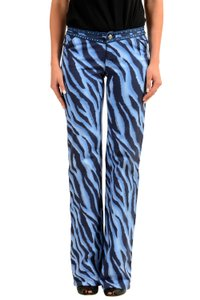 Versace Jeans Collection Straight Pants Multicolor