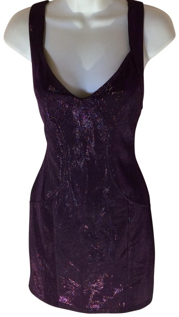 Forever 21 Purple Short Casual Dress Size 8 (M) Forever 21 Purple Short Casual Dress Size 8 (M) Image 1