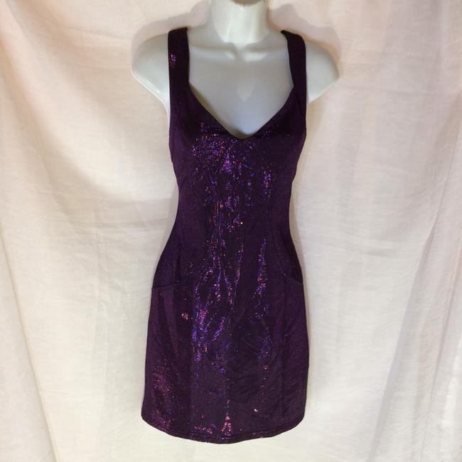 Forever 21 short dress Purple on Tradesy Image 1