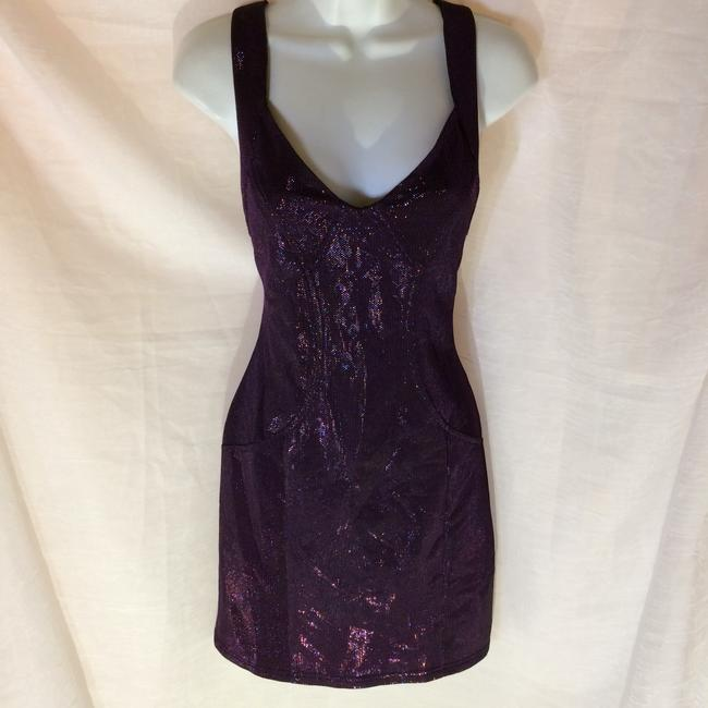 Forever 21 short dress Purple on Tradesy Image 4