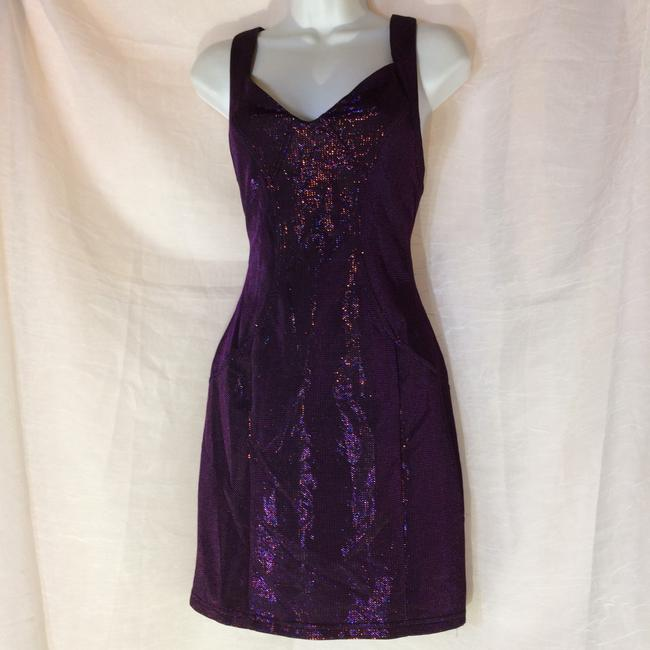 Forever 21 short dress Purple on Tradesy Image 6