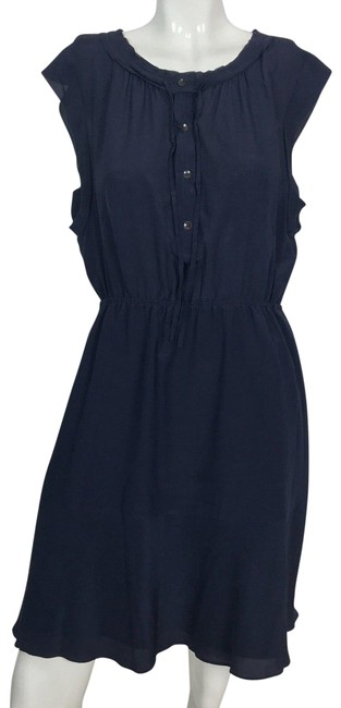Preload https://img-static.tradesy.com/item/24043815/broadway-and-broome-blue-silk-fit-flare-short-casual-dress-size-10-m-0-1-650-650.jpg