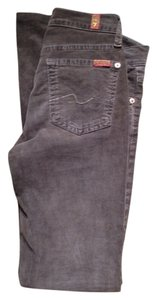 7 For All Mankind Bootcut Jeans Boot Cut Pants Brown corduroy