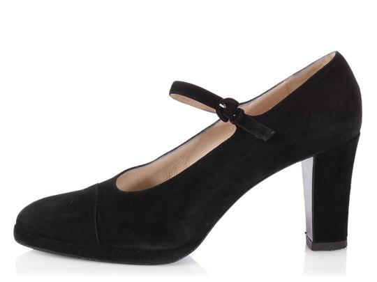 Chanel Mary Jane Classic Ch.p0817.13 Reduced Price Black Pumps Image 0