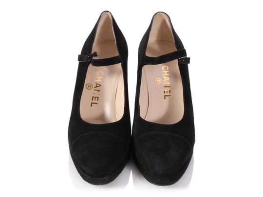 Chanel Mary Jane Classic Ch.p0817.13 Reduced Price Black Pumps Image 1