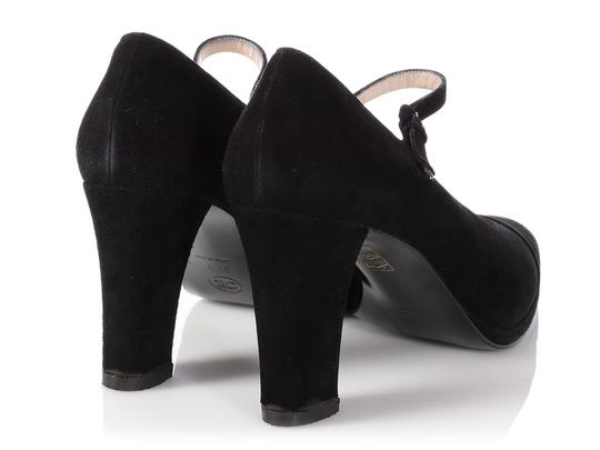 Chanel Mary Jane Classic Ch.p0817.13 Reduced Price Black Pumps Image 3