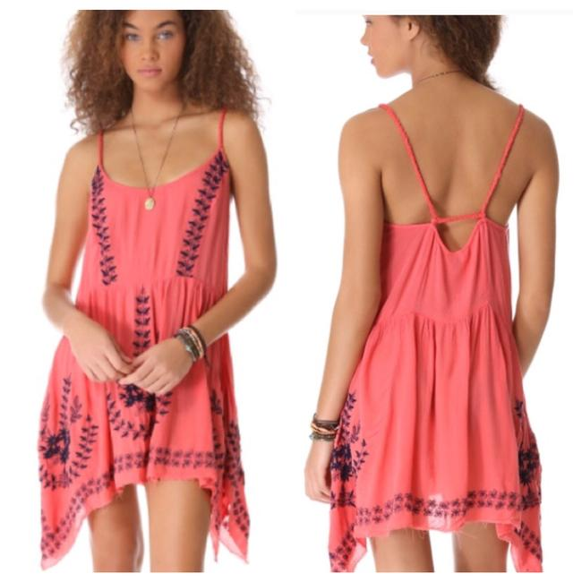 Preload https://img-static.tradesy.com/item/24043973/free-people-coral-meadows-of-medallion-slip-short-casual-dress-size-0-xs-0-2-650-650.jpg