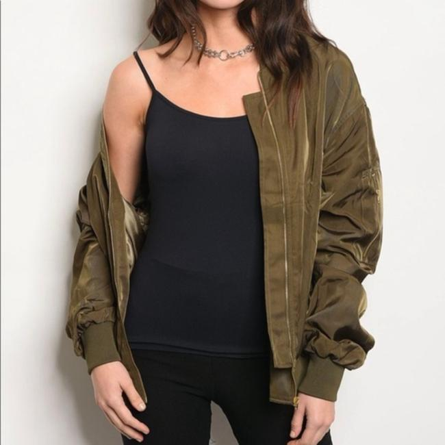 No Brand Olive Green Jacket Image 1