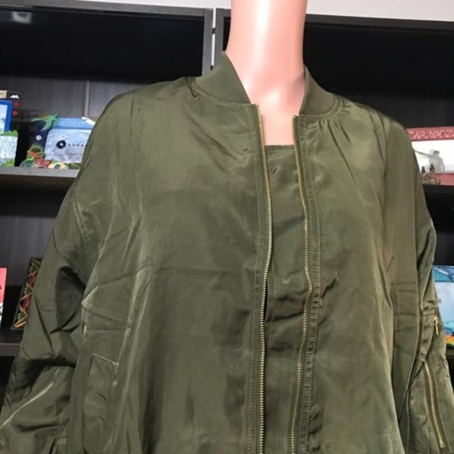 No Brand Olive Green Jacket Image 2