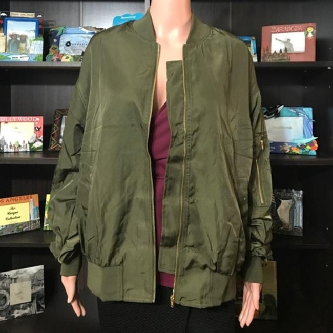 No Brand Olive Green Jacket Image 3