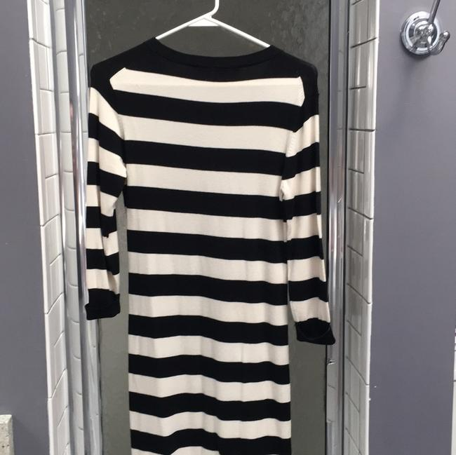 French Connection short dress black and white stripe on Tradesy Image 1