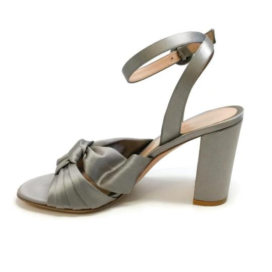 Gianvito Rossi Grey / Satin Formal Image 2