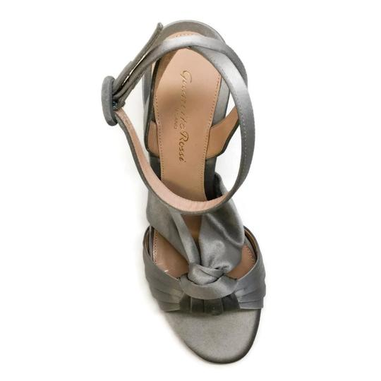 Gianvito Rossi Grey / Satin Formal Image 3