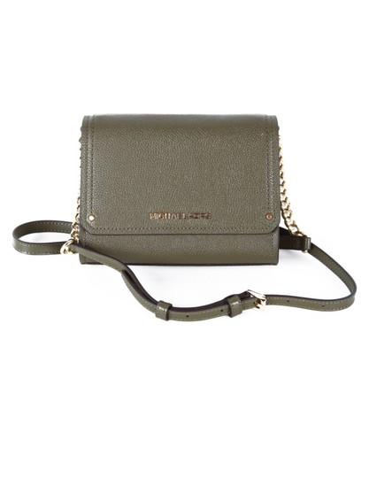 Preload https://img-static.tradesy.com/item/24044019/michael-kors-hayes-small-convertible-clutch-olive-leather-cross-body-bag-0-0-540-540.jpg