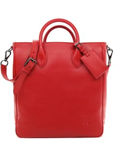 Ralph Lauren Collection Work Tote in Bright red