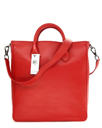 Ralph Lauren Collection Work Tote in Bright red Image 1