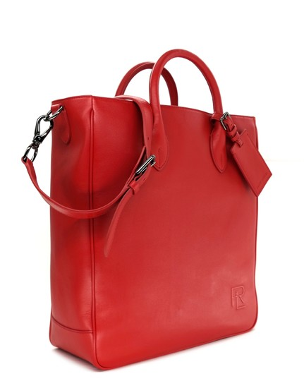 Ralph Lauren Collection Work Tote in Bright red Image 2