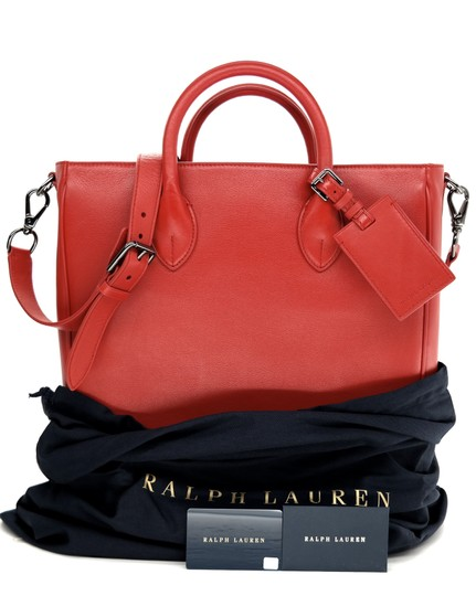 Ralph Lauren Collection Work Tote in Bright red Image 5
