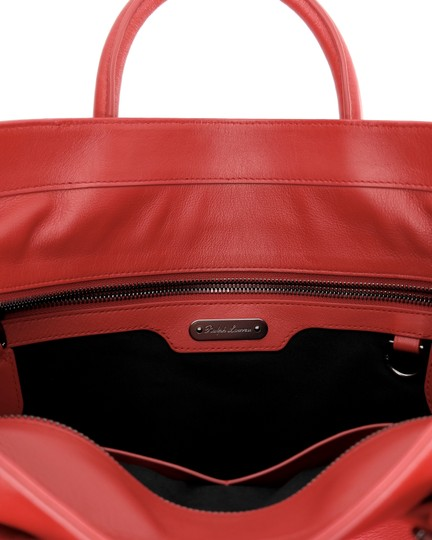 Ralph Lauren Collection Work Tote in Bright red Image 6