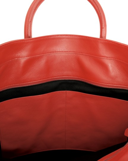 Ralph Lauren Collection Work Tote in Bright red Image 7