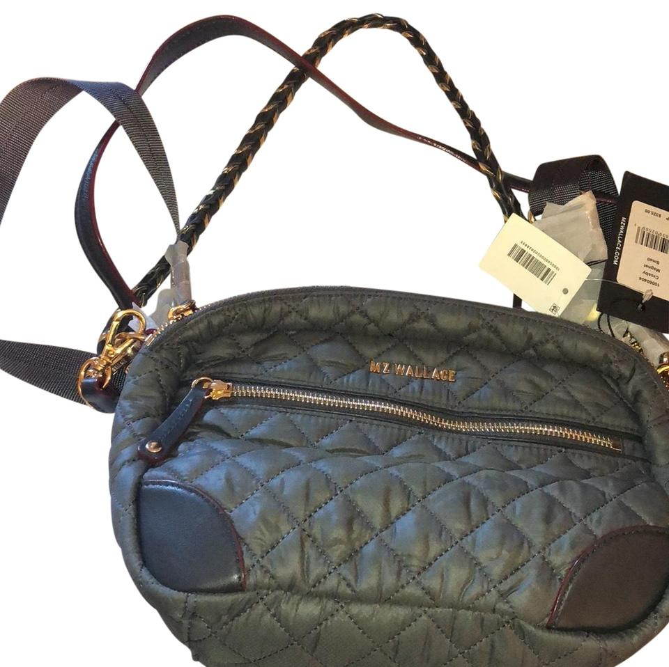 02e343f187 MZ Wallace Small Crosby Magnet Quilted Nylon Cross Body Bag - Tradesy