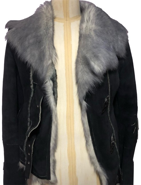 Preload https://img-static.tradesy.com/item/24044282/grey-real-with-high-quality-suede-fur-coat-size-4-s-0-1-650-650.jpg