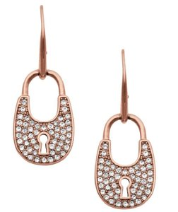 Michael Kors MICHAEL KORS Pave Crystal Padlock Earrings MKJ4891791
