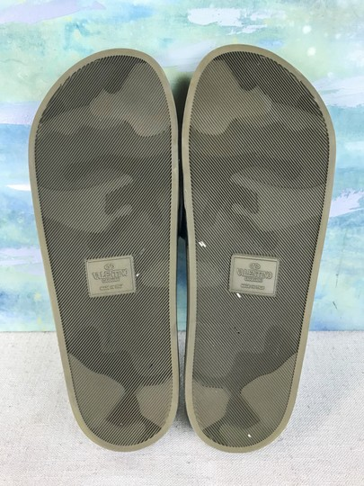 Valentino Camouflage Blue Sandals Image 11